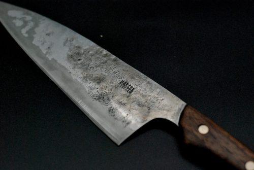 Chef knife 180 mm, walnut