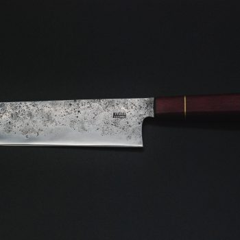 Nakiri 180mm,  violet wood