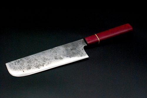Nakiri 180mm,  violet wood