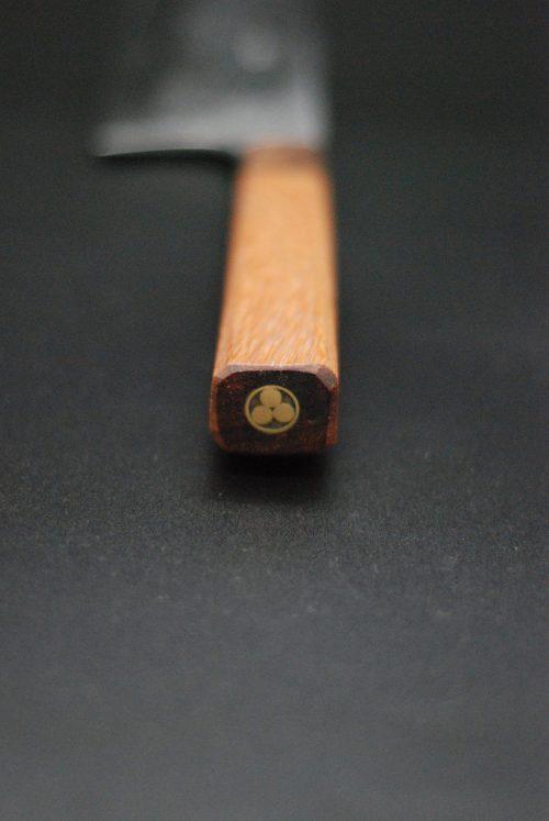 Nakiri 180 mm,   Mahogany-oak