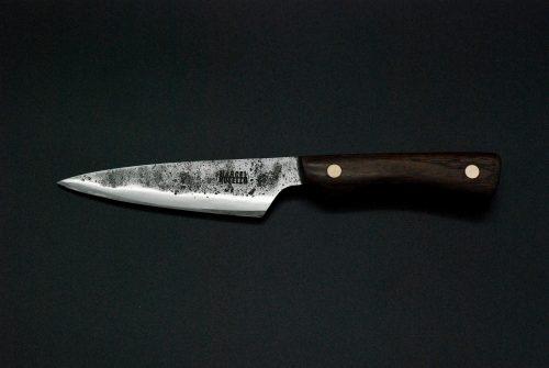 Paring knife 110 mm, walnut wood