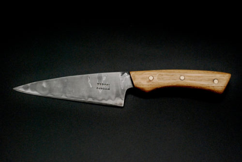 Paring knife 110 mm, oak