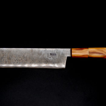 Nakiri 170 mm olive wood