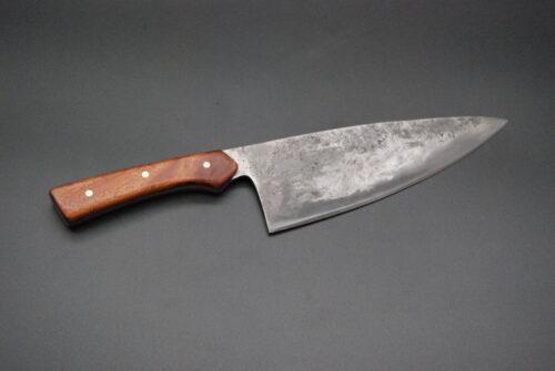 Chef knife 180 mm, mahogany